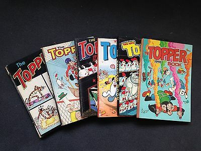 vintage  - THE TOPPER BOOKS 6  1965/76