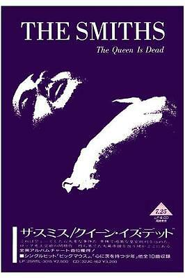 the Smiths POSTER the Queen Is Dead *LARGE* Japanese Promo Morrissey Johnny Marr