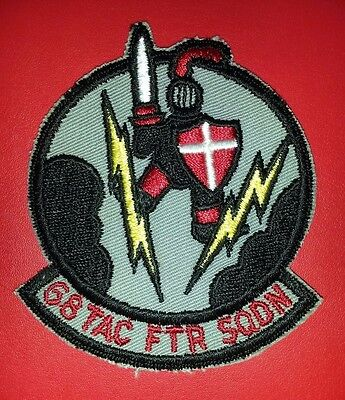 USAF 68th Tactical Fighter Squadron Patch