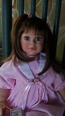 Lloyd Middleton One Of A Kind, FOS Brunett Doll, By Cheri McAfooes