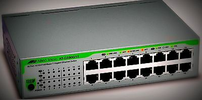 Switch Gigabit Ethernet Switch AT-GS900/16-50 AlliedTelesis, unmanaged, 16 Port