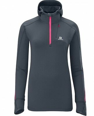Salomon Veste Swift Hooded Midlayer Femme Taille M