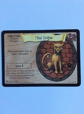 Harry Potter Trading Card Game Tcg Cartes Miss Teigne  29/116