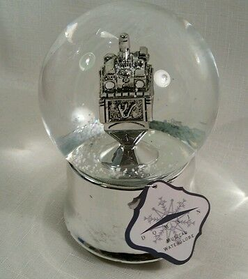 Judaica Dreidel Musical Waterglobe SnowGlobe Plays The Dreidel Song Hanukkah