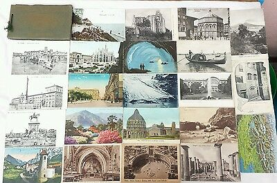 Lot 150 cpa cartes postales  anciennes italy Italie