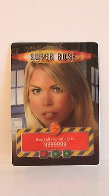 """*very Rare* Doctor Who Battles In Tme """"super Rose"""" Infinite Card"""