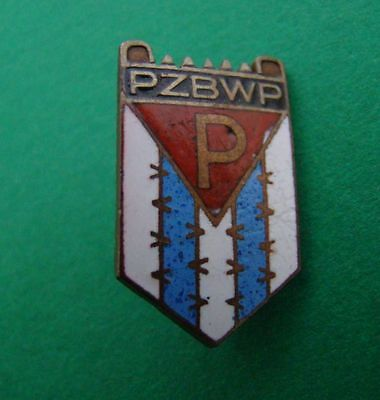 WW2 Poland  badge of former political prisoners and concentration camps.