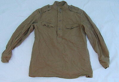 Vtg WW2 Original SOVIET UNION M43 Gymnasterka WORK TUNIC