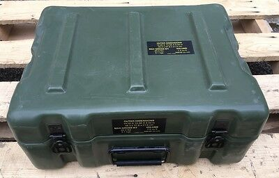 US Army HARDIGG Military CASE Transportbox Transportkiste Kiste Outdoor box