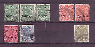 GB P.O. BAHRAIN GV. A Selection from Issues, mostly F/U.( T449)