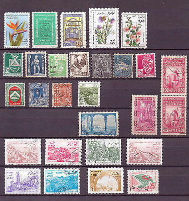 ALGERIA.... A selection  mostly F/U. ( D109 )