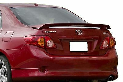 Painted Toyota Corolla Factory Spoiler 2009-2013