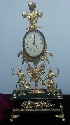 French Figural Timepiece