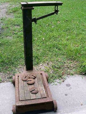Antique Fairbanks Scale w/ Weights