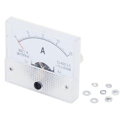 New 20A Analog Ampere Panel Meter Current Amp N3