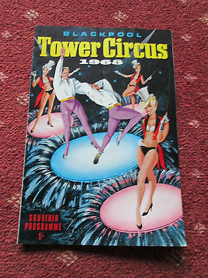 Tower Circus Blackpool - Programme 1968