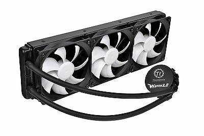 Thermaltake Water 3.0 Ultimate 360mm AIO Enthusiast Liquid Cooling System CPU...
