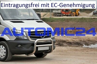 Brush Guards Bull Bars Bull Bar Facelift Mercedes Sprinter Approval