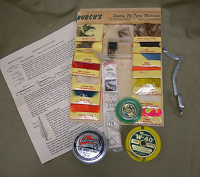 Vintage Burch's Fly Tying Kit
