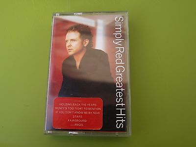 Simply Red Greatest Hits On Cassette