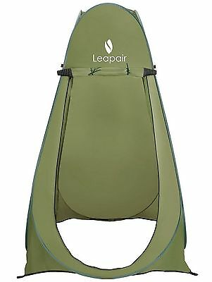 Leapair Pop-Up Shower Tent Green