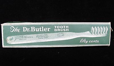 Vintage The Dr. BUTLER Toothbrush Original Pack of Two (AB677)