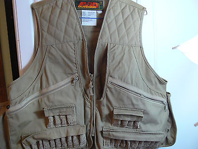 a78fd9464374f AVID OUTDOOR KHAKI Hunting Vest-Mens (38-40)-28 Shell Pouches-Game ...