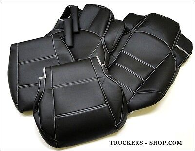 Mercedes Mp4 Leatherette Seat Covers Black[Truck Parts & Accessories]