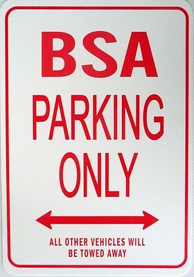 BSA  Parking Only All others vehicles will be towed away Sign