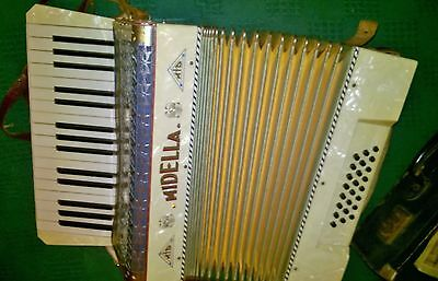Lovely vintage Midella Accordion