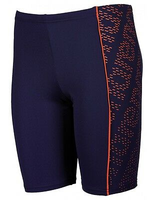 *NEW* Arena Boys Limpa Junior Swimming Jammers Trunks Navy Mango German Quality
