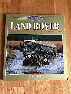 Land Rover British Four Wheel Drive Book From 1948 By Chris Bennett Osprey