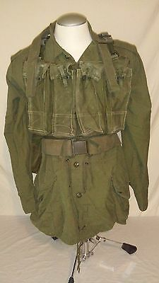1970's 1960's Canadian Jacket Webbing Sling Chest Rig