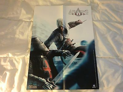 Rare Poster Affiche Metal Gear Solid 4 Assassin's Creed MGS4 Neuf 44X60 cm