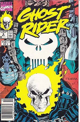 Ghost Rider (Vol 3) #6 - Oct/90 - with the Punisher