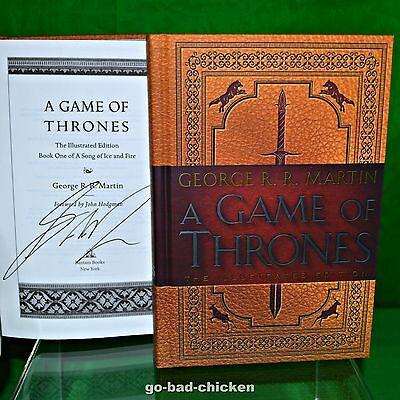 Signed A GAME OF THRONES 20th Anniversary Ed by George RR Martin 2016 1st/1st HC