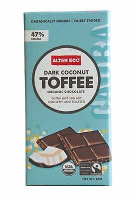 ALTER ECO Choc Dark Coconut Toffee 80g x 2