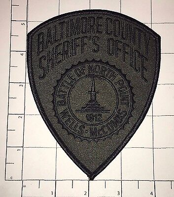 Baltimore County Sheriff's Office Patch - Maryland
