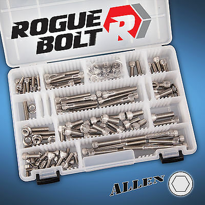 Small Block Ford Stainless Engine Bolt Kit   Sbf 260 289 302 351W Driv. H20 A