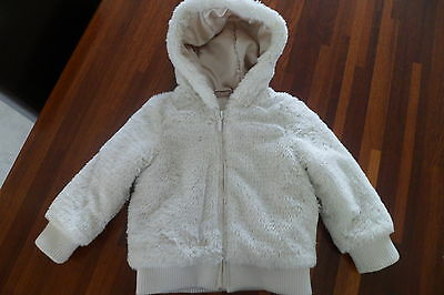 Girls faux fur Debenhams jacket