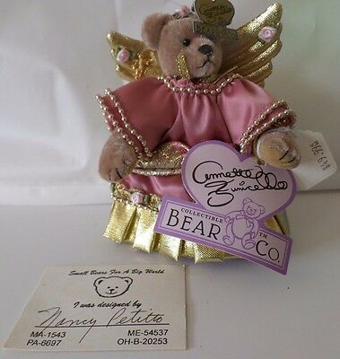 Annette Funicello Collectible Bear by Bear Co. CTA Included and Plastic Storage