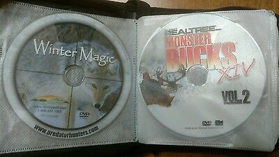 25 misc hunting dvd