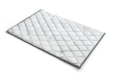 Chicco Lullaby Quilted Playard Mattress, Grey