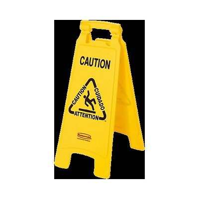 Rubbermaid Commercial Products FG611200YEL Signalisation de Sol Double Face a...