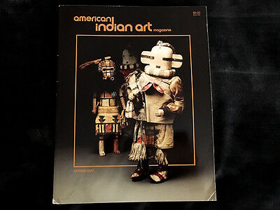 American Indian Art Magazine Spring 2007 First Nations Navajo Pottery Dundas Col