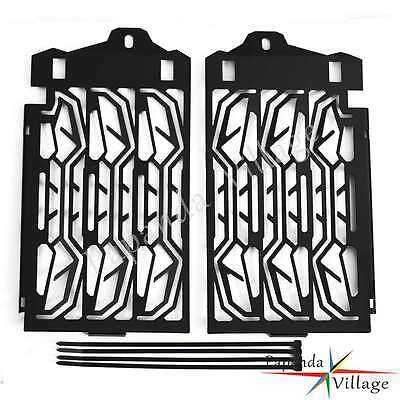 Pair Radiator Cooler Grill Guard Cover Caps For BMW R 1200 GS 2013-2016 Black