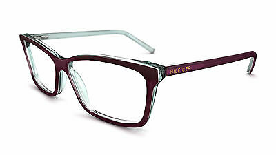 TOMMY HILFIGER TH 55 Designer Glasses Frames  Spectacles Mulberry Purple Genuine