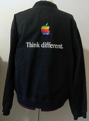 Very Rare Vintage Apple Think Different Embroidered Jacket from 1998