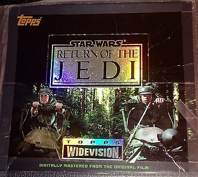 Topps Widevision Star Wars Return of the Jedi 1995 Complete 144 Card Set
