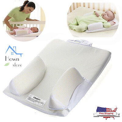 Baby Sleep Positioner Pillow Anti Roll Sleeping Mat Support Safe Head Back Waist